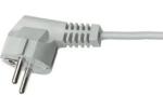 Aansluitsnoer Vmvl wit 3x0,75mm2 lengte 2meter