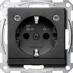 Merten SE MTN2304-0414 wcd ra antraciet met led inbouw