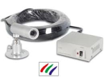 Kleurcamera staaf ip68 met 230v voeding en 30m kabel