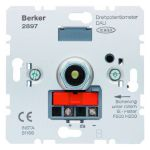 Berker 2897 draaipotentiometer dalie