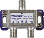 Spaun VBE 2 PD Satellietsignaalverdeler 2-voudig
