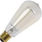 Rustika deco lamp e27 40w 160lm helder 230v