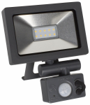 Robus micro activate 10w Led flood light + pir ip65 4000k