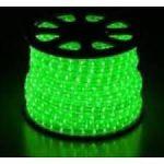 Flex-Line Lichtslang 13mm groen rol 100m met aansluitsnoer 165watt