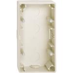 Merten MTN512244 opbouwbak 2V creme wit