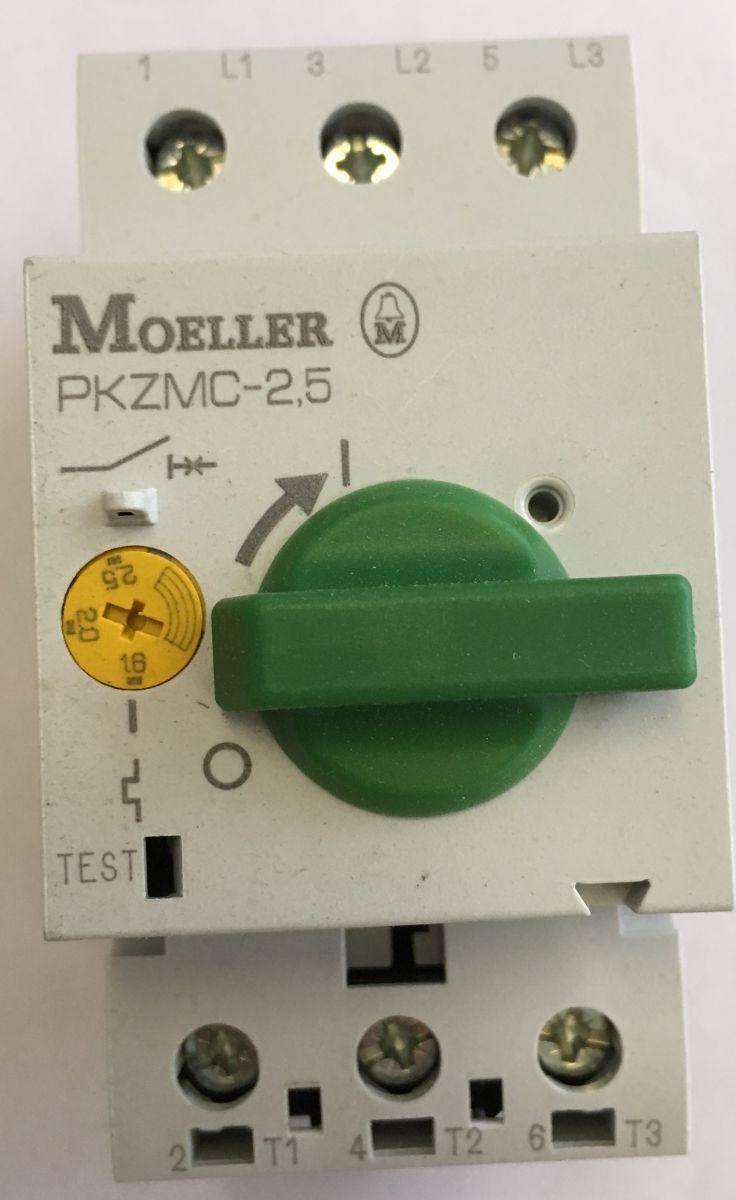 moeller pkzmc25 inhoud